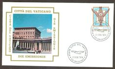 Vatican City Sc# C59, The Byzantine Angel on First Day Cover | eBay