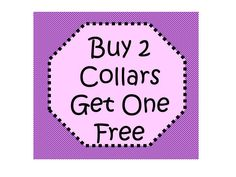 Package! Buy 2 Collars Get One Free! by katiesk9kollars on Etsy