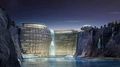 Intercontinental Shimao Shanghai Wonderland will have three levels above ground and 16 underground.