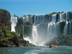 See the Iguazu Falls in Argentina