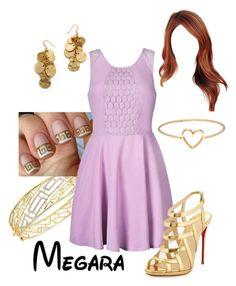 """Disney - Megara"" by briony-jae ❤ liked on Polyvore"
