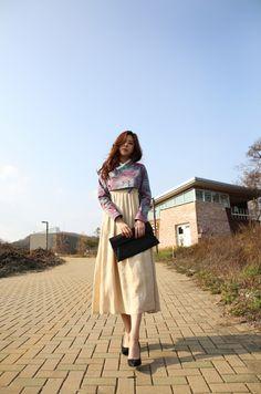 korea traditional fasion style hanbok