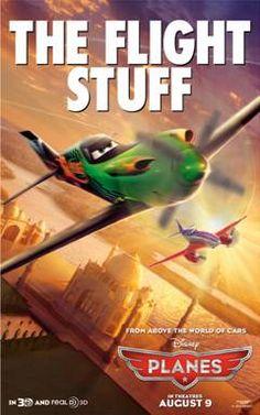 Ripslinger from Disney Planes ~ Disney Planes Movie Poster #DisneyPlanesPremiere
