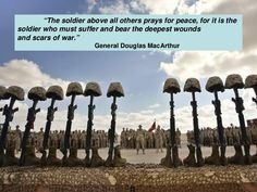 Memorial Day Tribute to the Fallen Soldier Motivational Military Quotes, Douglas Macarthur, Pray For Peace, Military Humor, All Hero, Fight For Us, Many Men, Caribbean Sea, God Bless America