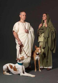 Roman costumes by Stef Verstraaten Ancient Rome, Ancient Greece, Ancient History, Roman History, Art History, Historical Costume, Historical Clothing, Roman Pictures, Ancient Roman Clothing
