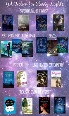 YA Fiction for Starry Nights -- a collection of *starry* young adult fiction. Some of these sound great!