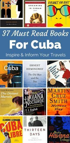 Your must read books about Cuba. This reading list includes fiction, non-fiction, novels and literature about the culture and history of Cuba. Prepare for Cuba and learn about both Havana & Hemmingway before you go.