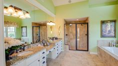 Jude Dream Home Emerald Forrest Home Plan by Stephen Alexander Homes in Show Homes Custom Home Builders, Custom Homes, St Jude Dream Home, Home Collections, New Construction, Building A House, House Plans, Emerald, Bathrooms