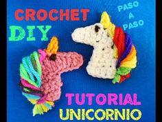 Aprende a Tejer Unicornio !!! Unicorn Crochet Tutorial - YouTube