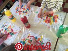 Mixed – Ilknur Cigdem Demirel – ich folge - New Site Easter Activities, Toddler Activities, Preschool Activities, Easter Crafts For Kids, Toddler Crafts, Diy For Kids, Toddler Art, Diy And Crafts, Arts And Crafts