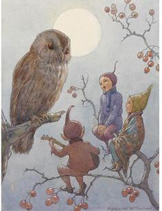owl and elfins