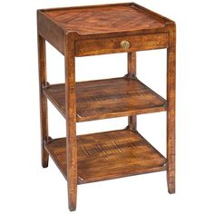 Sarreid Triple Shelf Occasional Table