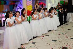 SÃO Girls Dresses, Flower Girl Dresses, Formal Dresses, Wedding Dresses, Abc Birthday Parties, Party, Fashion, Events, Fotografia