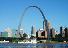 St. Louis Arch; St. Louis, Missouri.  A ten hour drive to worship with Joyce Meyer and Hillsong....awesome!