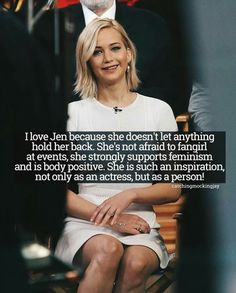 Jennifer Lawrence is my spirit animal.