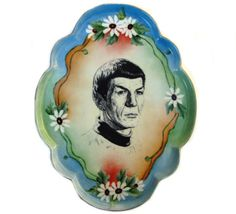 i would love this plate even if spock weren't on it