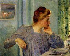 Portrait de Mme Claus - Emile Claus - 1900