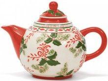 Christmas Joy Teapot