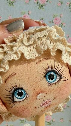 PDF Pattern- How to Make a Mini BeBe Baby Doll by BeBe Babies and Friends Soft Sculpture Baby Doll Pattern Cloth Doll Waldorf Doll Mini Doll Face Paint, Doll Painting, Doll Toys, Baby Dolls, Fabric Toys, Fabric Crafts, Sewing Dolls, Rock Crafts, Diy Crafts
