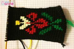 Tunus İşi Menekşe Patik Modeli Yapımı Knitted Hats, Crochet Hats, Elsa, Winter Hats, Knitting, Slipper, Men, Tricot, Knitting Hats