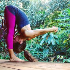 The only journey is the one #within - #RainerMariaRilk Day 8 of the #Yoga4Growth #yogachallenge is a #ForwardFold or #Uttanasana with a #ShoulderStretch How to find more #mojo in this pose: 1. only fold forward to the extent that you can also still keep your legs straight - it's in this position with the quadriceps flexed that your hamstrings can release; 2. rest your hands on blocks or a similar prop if you don't fold forward very far or if this position creates stress in your low back or…
