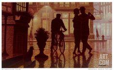 Comme Bon Nous Semble I Art Print by Denis Nolet at Art.com