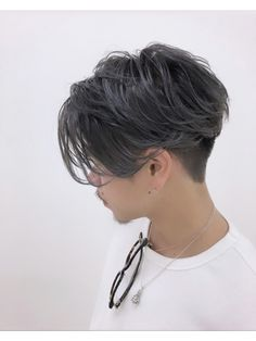 Asian Men Hairstyle, Undercut Hairstyles, Hairstyles Haircuts, Asian Haircut, Korean Hair Color, Men Hair Color, Korean Men Hair, Asian Short Hair, Short Hair Cuts