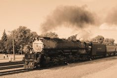 locomotive à vapeur challenger- Cris Figueired♥