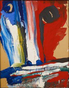 'Sous le regard d'un dieu' (Under the Gaze of a God) by Bengt Lindström, 1985