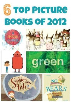 6 of our favorite picture books published in 2012 (part 2 in a series)