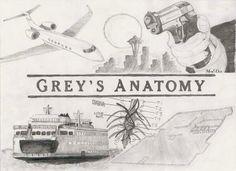 AMAZING drawing!! Grey's Anatomy