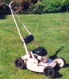 Vintage Acto Rotary Lawn Mowers-1960s