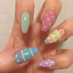 Easter Nails pic