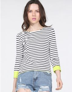 iWoo Women Casual Tops Round Neck Long Sleeve Multi-Color Print Check T Shirts Patchwork Tunic Blouse