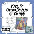 This is a fun way for students to practice finding both area and circumference of circles.  There are 12 problems total, 6 area and 6 circumference...