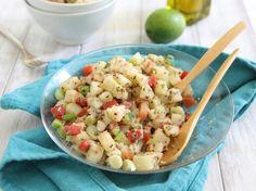 Lime basil tabbouleh salad