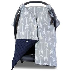 Batman Car Seat Canopy Baby Cover Keeps Infant Warm in Winter Cool in Summer