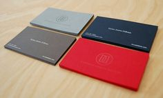 Love colors of those business cards.