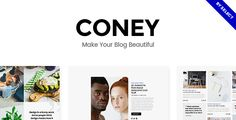 Coney - A Trendy Theme for Blogs and Magazines  -  https://themekeeper.com/item/wordpress/blog-magazine/coney-trendy-theme-blogs-magazines