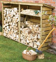 Rowlinson Large Log Stores LOGLRG1 available now from Trading Depot  www.tradingdepot.co.uk/DEF/product/!!LOGLRG1!!