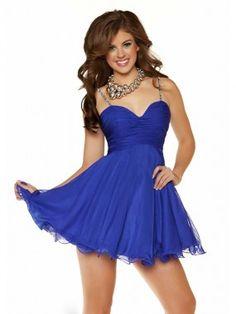 A-Line/Princess Spaghetti Straps Sleeveless Ruffles Short/Mini Chiffon Dresses