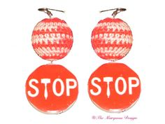 Stop Right Now #TheMarquessDesign   Perfect for making a statement Available through the blog