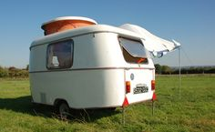 I soo want one of these!!! The Puck is a much loved vintage caravan with a fanatical following.