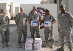 Operation Gratitude is a 501 (c) (3) non-profit, volunteer organization that annually sends 100,000+ care packages of snacks, entertainment items and personal letters of appreciation addressed to individually named U.S. Service Members deployed in hostile regions such as Iraq and Afghanistan, and on military ships at sea.   For more on this organization go to www.operationgratitude.com