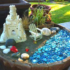 Fairy Garden Castle Beach Scene Fairy by MagikalFairyland on Etsy - Modern