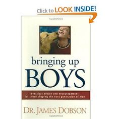 When our boys were younger, my husband and I were reading this book.  The first chapter tells all about crazy things that boys will do.  I asked my husband if he and his brothers did any of those things.  He answered yes to 95% of the things on the list.  What he said, we were boys after all.
