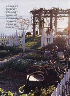 Practical Magic - side garden