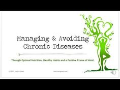Managing and Avoiding Chronic Diseases with RAW 'N Green Wellness Coaching Frame Of Mind, Healthy Habits, Coaching, Mindfulness, Positivity, Wellness, Green, Youtube, Training