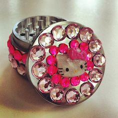 Custom Jeweled Herb Grinder  Made to Order by PirateGirlCouture, $35.00