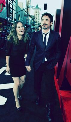 Robert & Susan Downey
